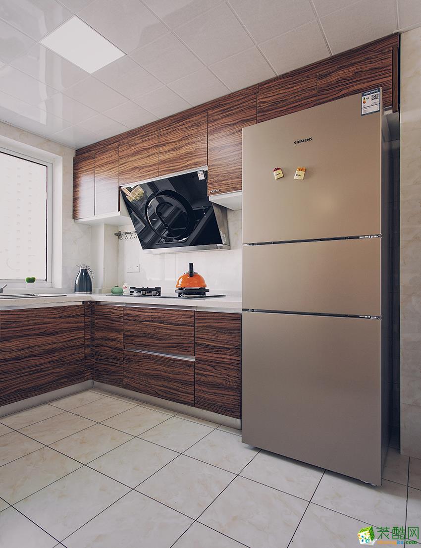 金水湾86平两室两厅两卫现代北欧风格装修效果图