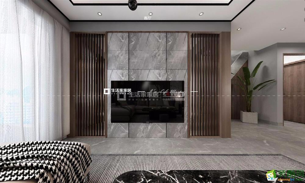 昆明玺樾花园108平米装修案例图-生活家装饰