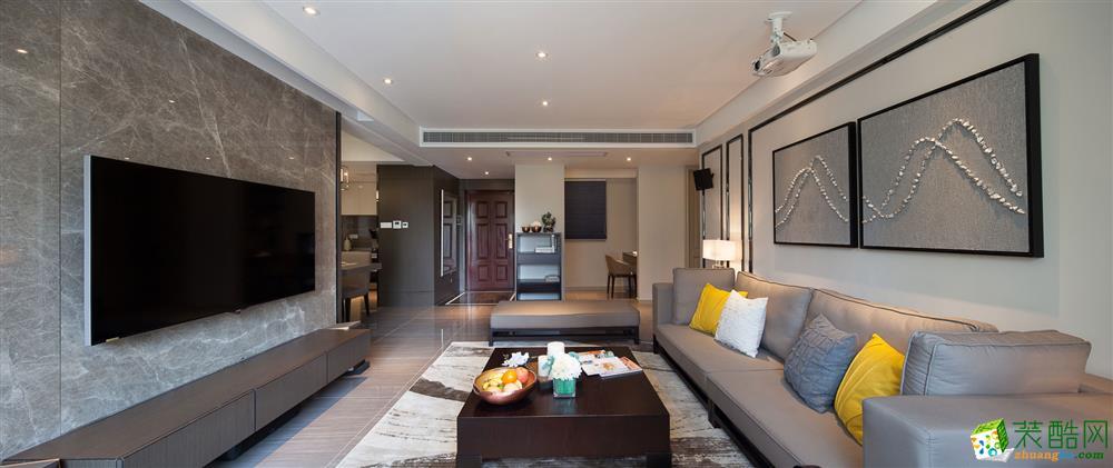 青岛两室两厅装修-89平米北欧风格装修效果图-四季金辉装饰