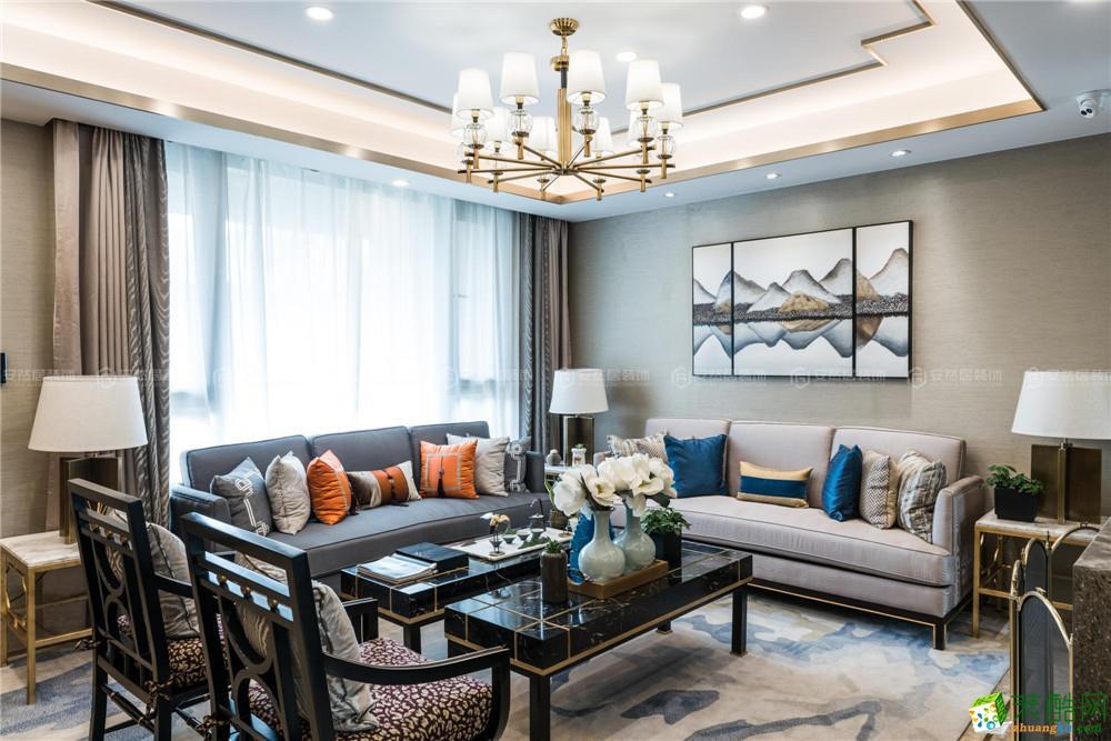 招商长提225平新中式风格别墅设计作品