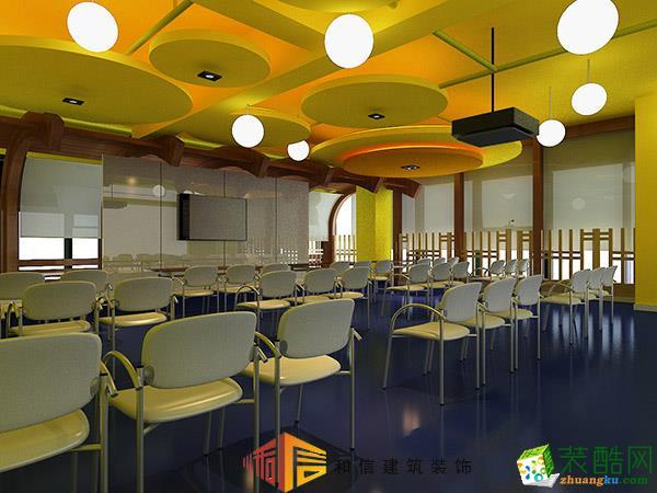 成都學校裝修設計公司-成都階梯早教中心
