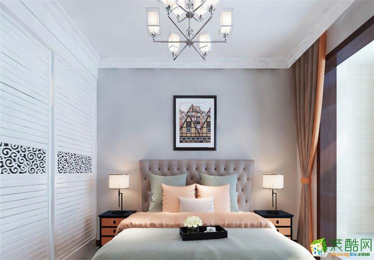 130平四居室现代风格装修效果图