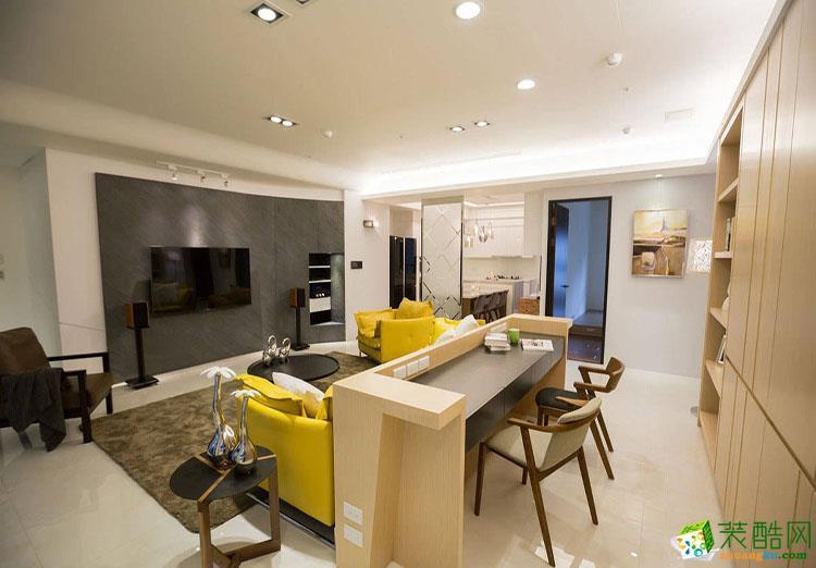 122平米三居室欧式风格装修效果图