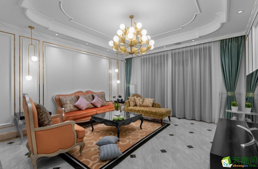 昆明300平別墅裝修案例圖-龍發裝飾