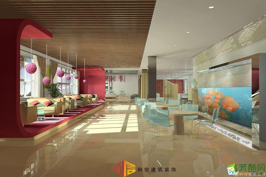 成都售樓部裝修設計公司-清溪玫瑰園售樓部
