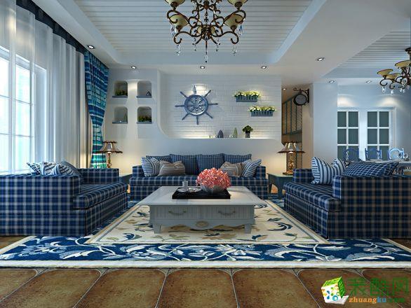 地中海-三居室装修案例