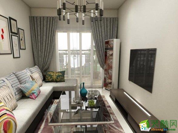 现代-三居室装修案例