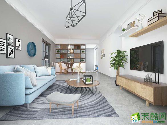 北欧-三居室装修案例
