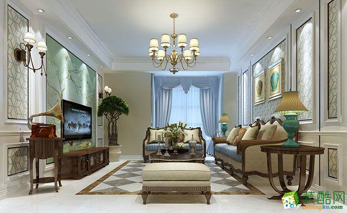 现代简约-三居室装修案例