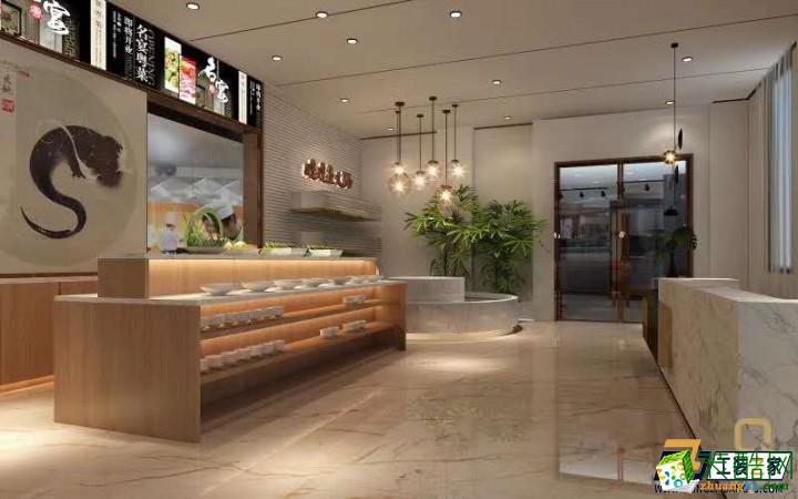 咸阳特色餐厅装修设计案例