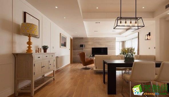 乐山逸境装饰:145平三居室日式风格装修案例