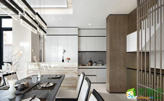 乐山180平三居室中式风格装修案例