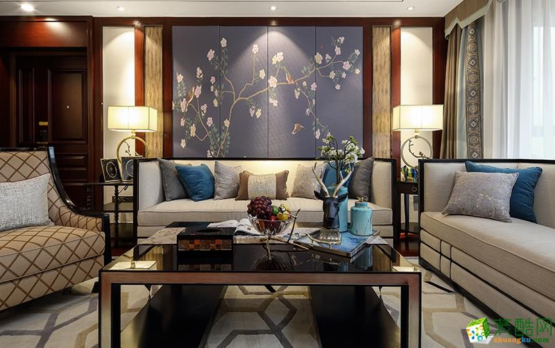 常州红蚂蚁装饰:泰南苑 | 现代中式风格装修案例