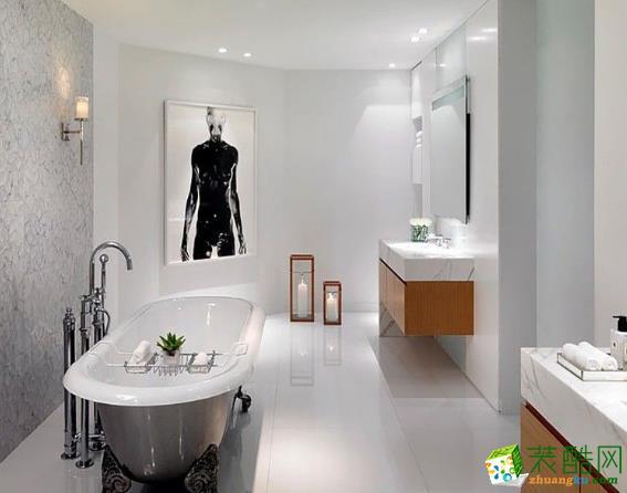 常州华润国际社区93平两居室简约风格装修案例