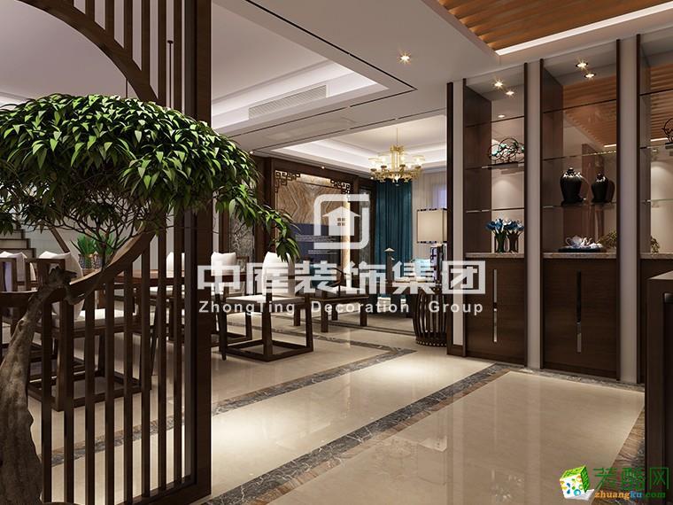 【南宁中庭装饰】南湾九里140平米 中式风格设计作品