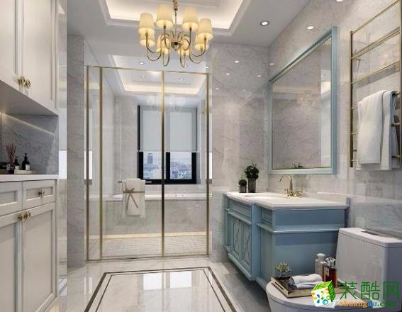 海航装饰122平三居室欧式风格装修案例