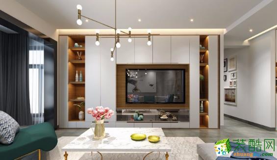 常州130平四居室简约风格装修案例