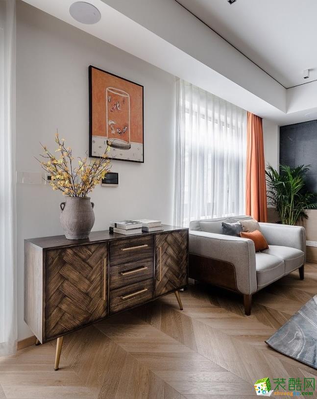 軟裝飾  曲靖200平別墅歐式風格裝修案例圖