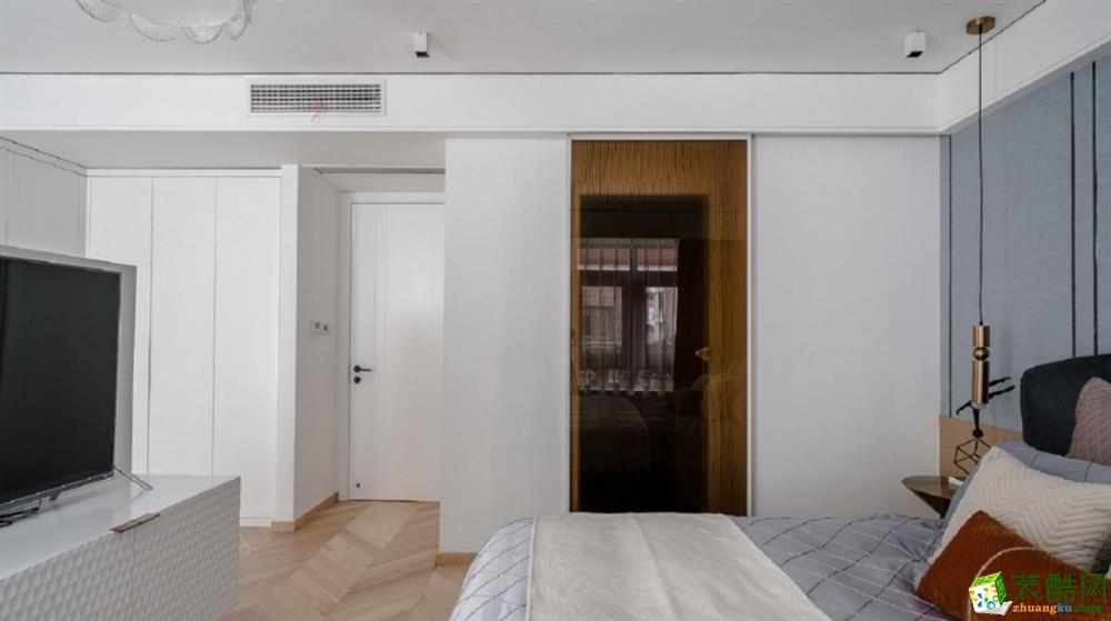 臥室  曲靖200平別墅歐式風格裝修案例圖