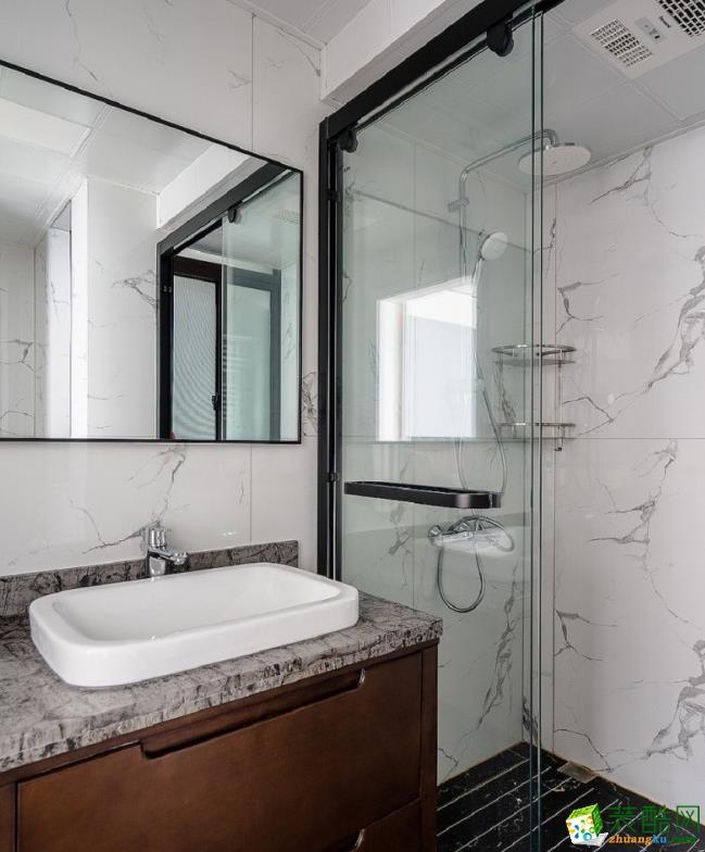 衛浴  曲靖200平別墅歐式風格裝修案例圖