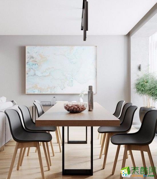 常州红蚂蚁装饰70平两居室现代风格装修案例
