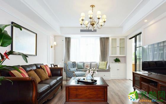 常州星艺装饰:170平美式风格三居室装修案例