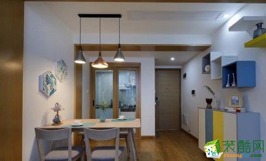 常州星艺装饰:100平三居室北欧风格装修案例
