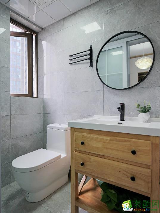 衛浴 和順惠園98方三室一廳一衛北歐風格裝修設計效果圖 和順惠園98方三室一廳一衛北歐風格裝修設計效果圖