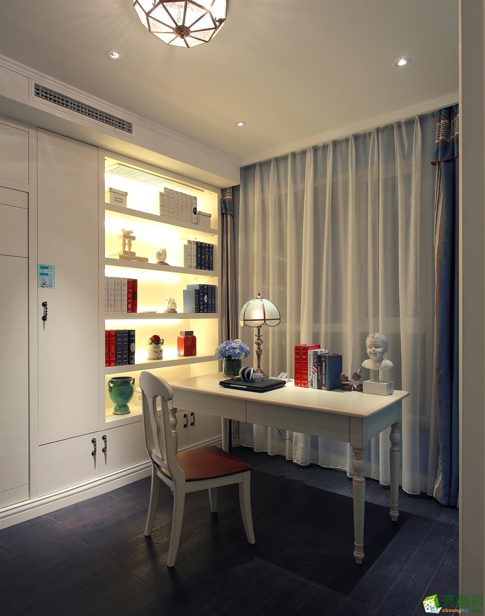【中之旗装饰】80平两室一厅一卫地中海风格装修效果图