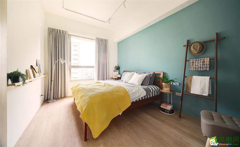 【中之旗装饰】80平两室两厅一卫现代风格装修效果图
