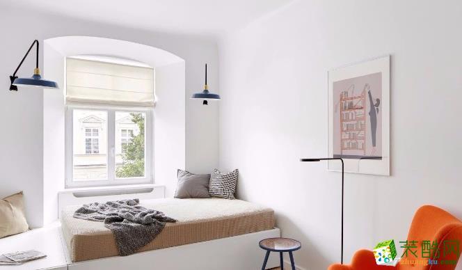 常州67平两居室简约风格装修案例