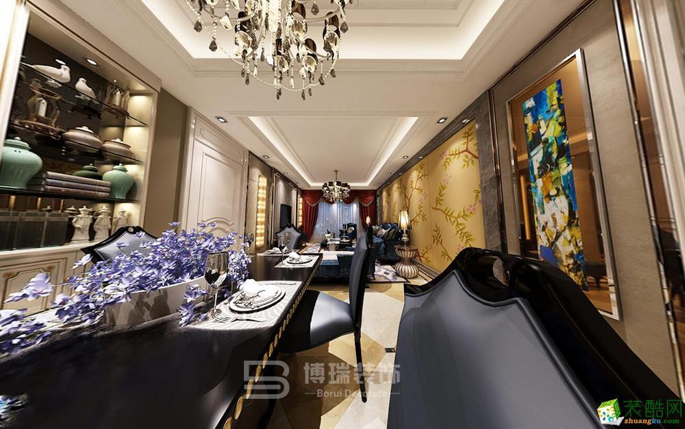 罗蒙环球城140方欧式风格家居