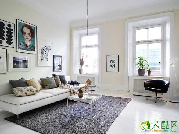 四居室-北欧风格装修案例