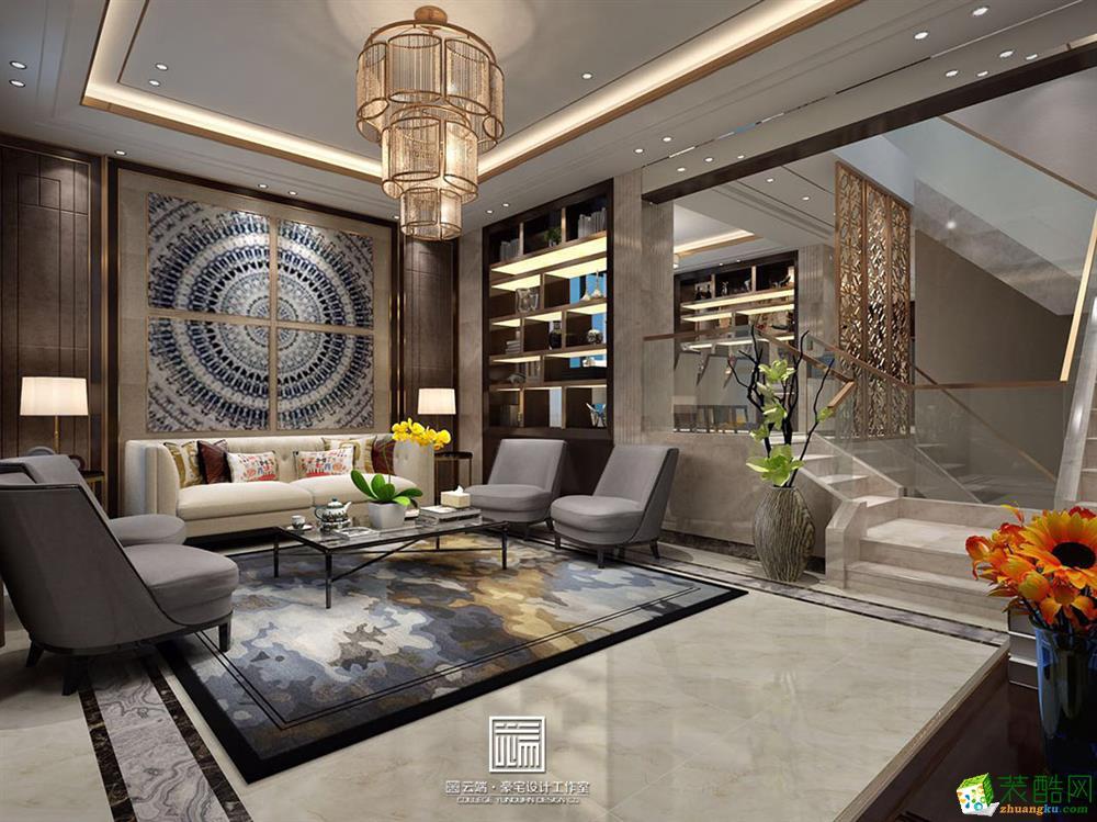 中海铂宫港式风格设计装修案例