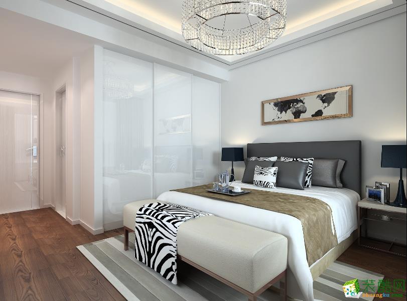 【博舟装饰】100方现代简约三室一厅装修设计效果图