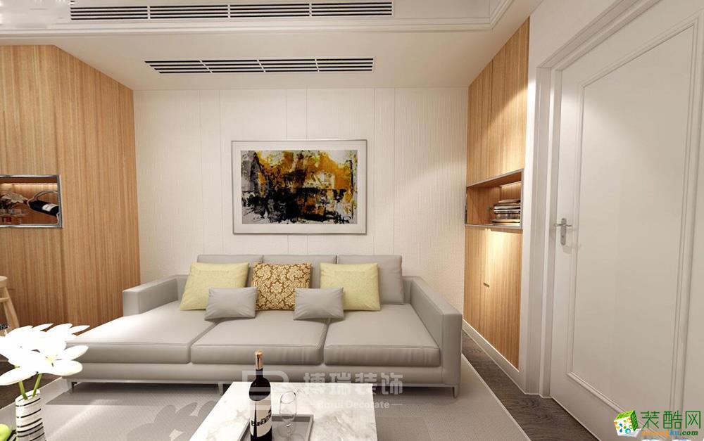 凯德湖墅85方北欧风格装修设计效果图