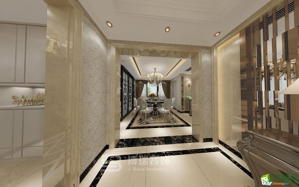 西溪里瑾园183方欧式风格四室两厅装修效果图