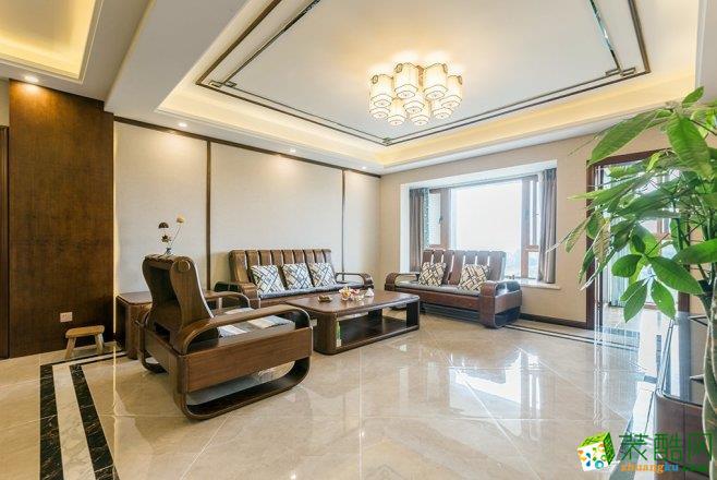 新中式-三居室装修案例