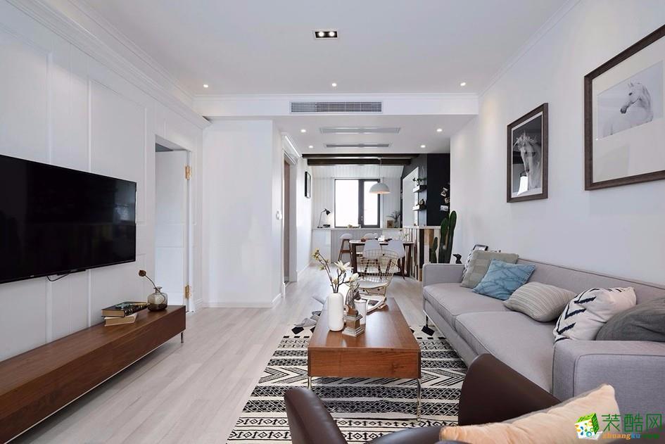 南京120平米現代風格三居室裝修案例