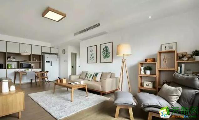 南京62平米原木風格小公寓房