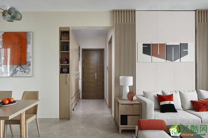 现代-四居室装修案例效果图
