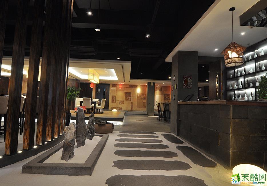 三星装饰-隐泉日本料理餐厅