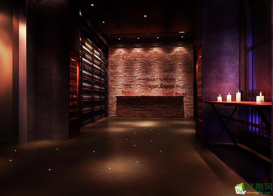 三星装饰-塞纳维法国红酒中心餐厅