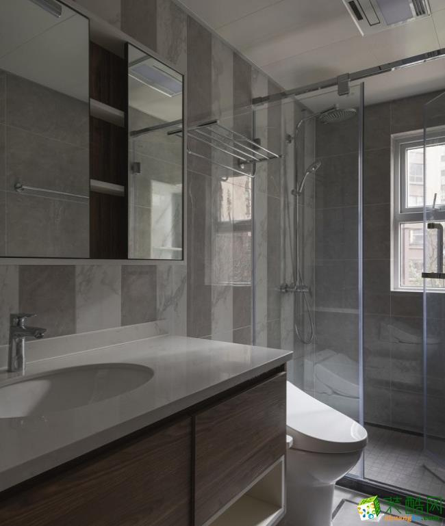 卫浴  贵阳145平米混搭风格-城市人家装饰