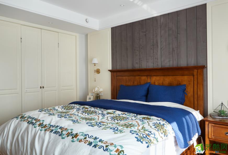 济南南塘北居装饰-110平米现代简约三居室装修案例