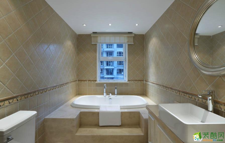 济南南塘北居装饰-120平米欧式三居室装修案例