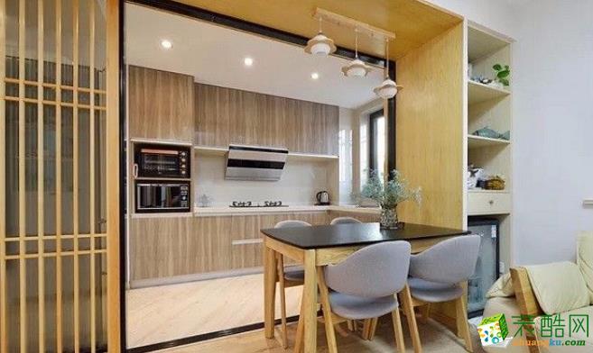 常州60平两居室日式风格装修案例