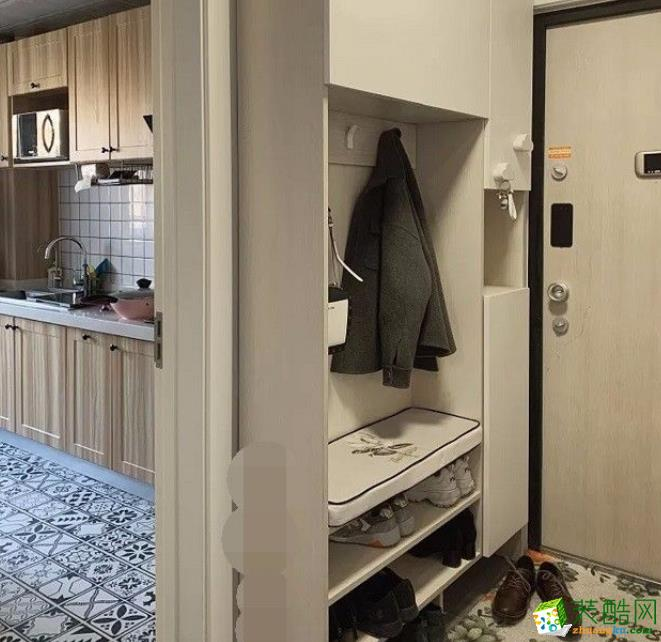 常州63平两居室现代简约风格装修案例