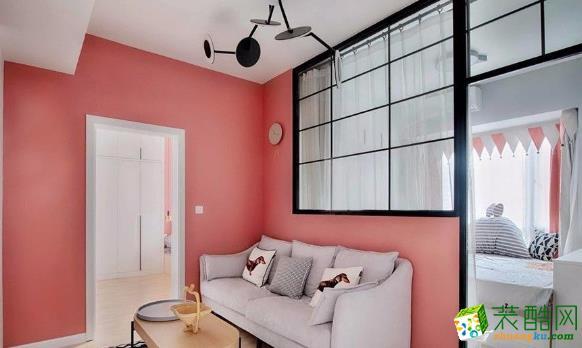 常州50平一居室简约风格装修案例