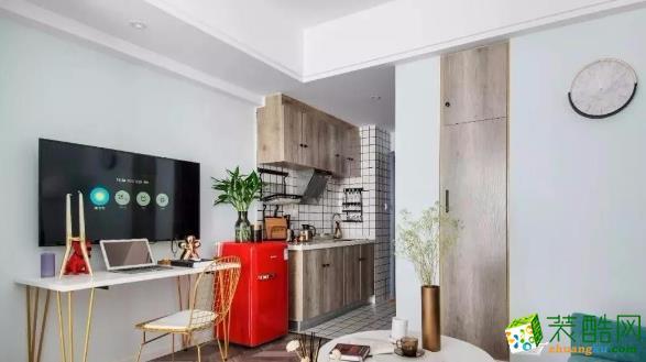 六安40平简约风格一居室装修案例